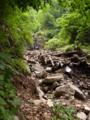 瀧山川源頭の滝