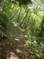 長峰コース分岐・ここは右です