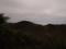 奥の院越しに鳥海山を見るの図