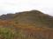 奥の院から見る葉山山頂と主稜線の図