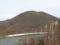 鞍部手前から大関山を見るの図