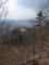 山頂付近から西方を見た図