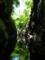 三淵渓谷と水面