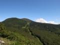 山頂から見る地蔵山