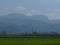 長瀞から見る黒伏山