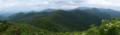 白森から見る船形連峰の図