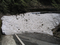 6月上旬の二口峠の残雪の図