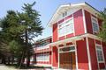 旧長井小学校第一校舎お色直し完了