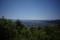 秋葉山荘前から見る宮内方面の図