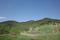 ハイジアパーク裏から見る秋葉山の図