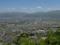 富神山山頂から見る山形市街の図