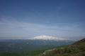 大ツボ石から目の前に月山を見るの図