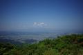 女山山頂から尾花沢方面を見たところ