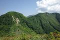 男山と翁山の図