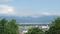 長岡山公園から二口峠方面を見るの図
