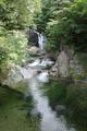 こちらは関山大滝です