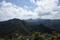 山頂直下から林道方面を見るの図