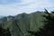 二口林道から見る小東岳の図