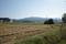 水沢から見る熊野長峰の図