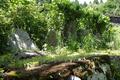 平清水コース出口付近の石碑