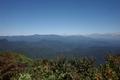 大東岳山頂から見る船形連峰の図