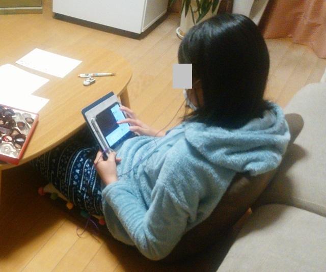インフルエンザ iPad 動画