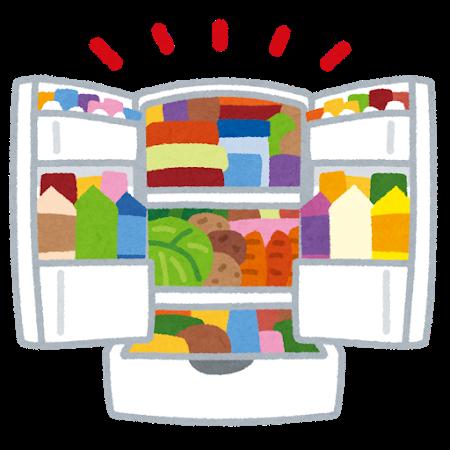 冷蔵庫 詰めすぎ