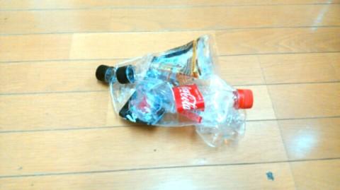 ペットボトル吸引 結果