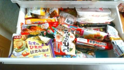 冷凍庫の食料