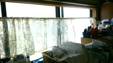 台所のカーテン
