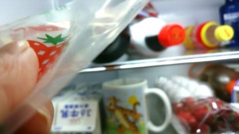 冷蔵庫のコーラ