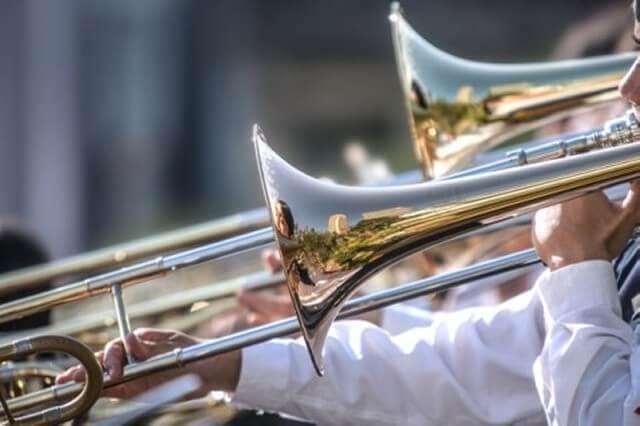 吹奏楽部のマーチング