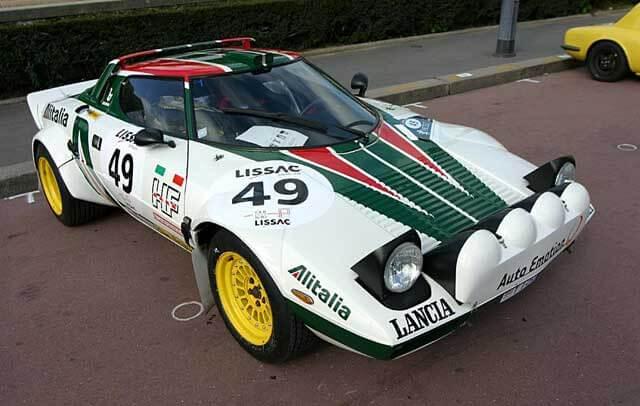 スーパーカーのランチアストラトス