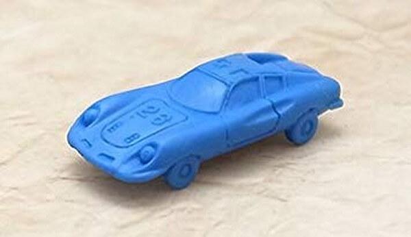 スーパーカー消しゴムのランボルギーニミウラ