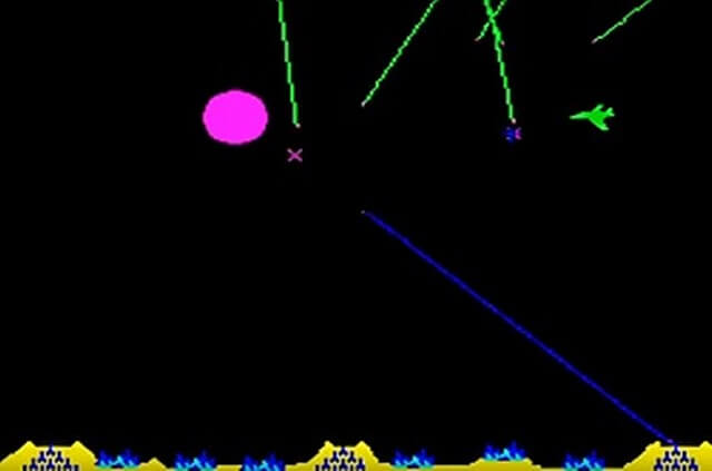 ミサイルコマンド画面2