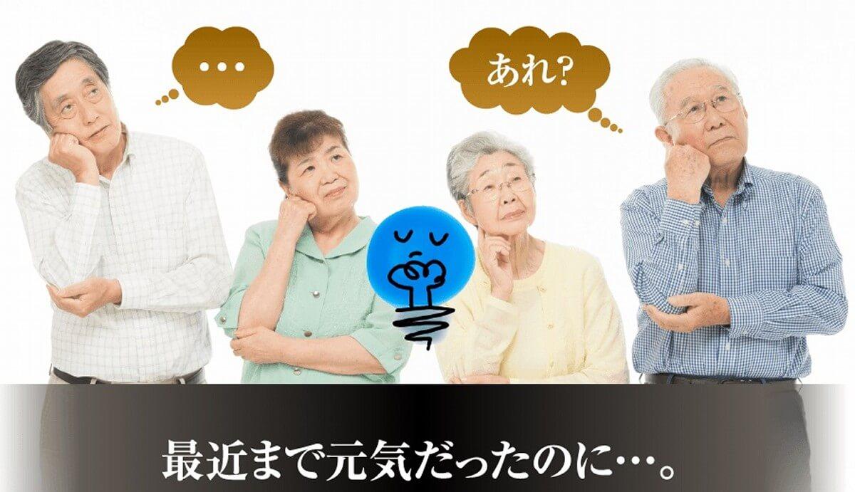 高齢者のための症状を軽くするサプリメント