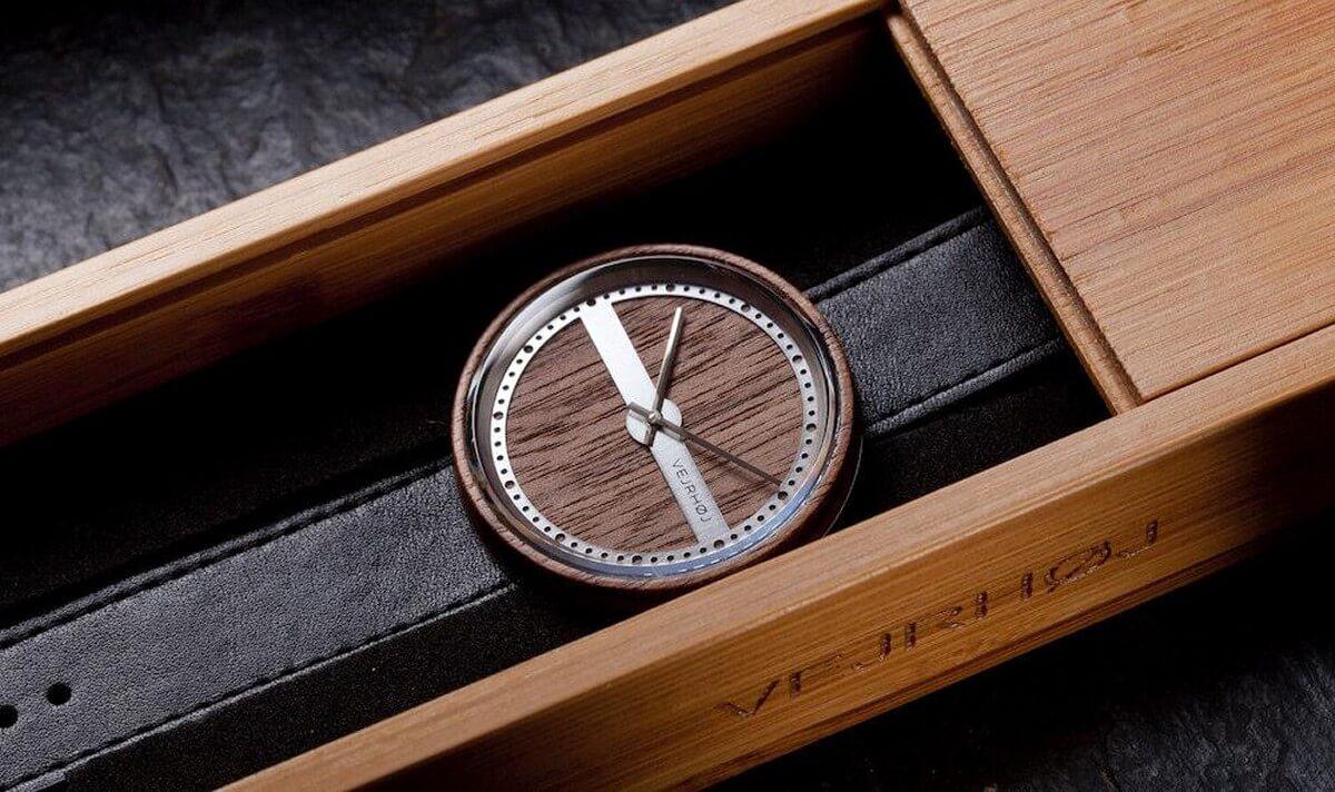 VEJRHOJ(ヴェアホイ)腕時計|プレゼントに「世界に一つだけの時計」