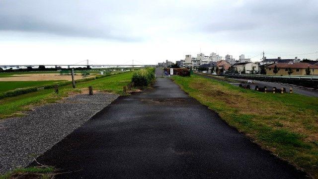 吉野川南岸堤防2016年9月22日