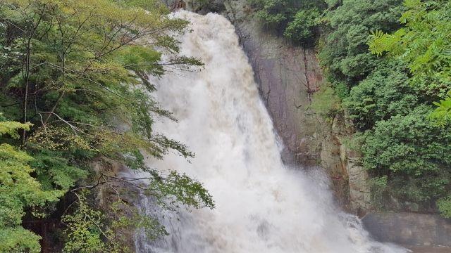 五本松かくれ滝 2017年10月22日