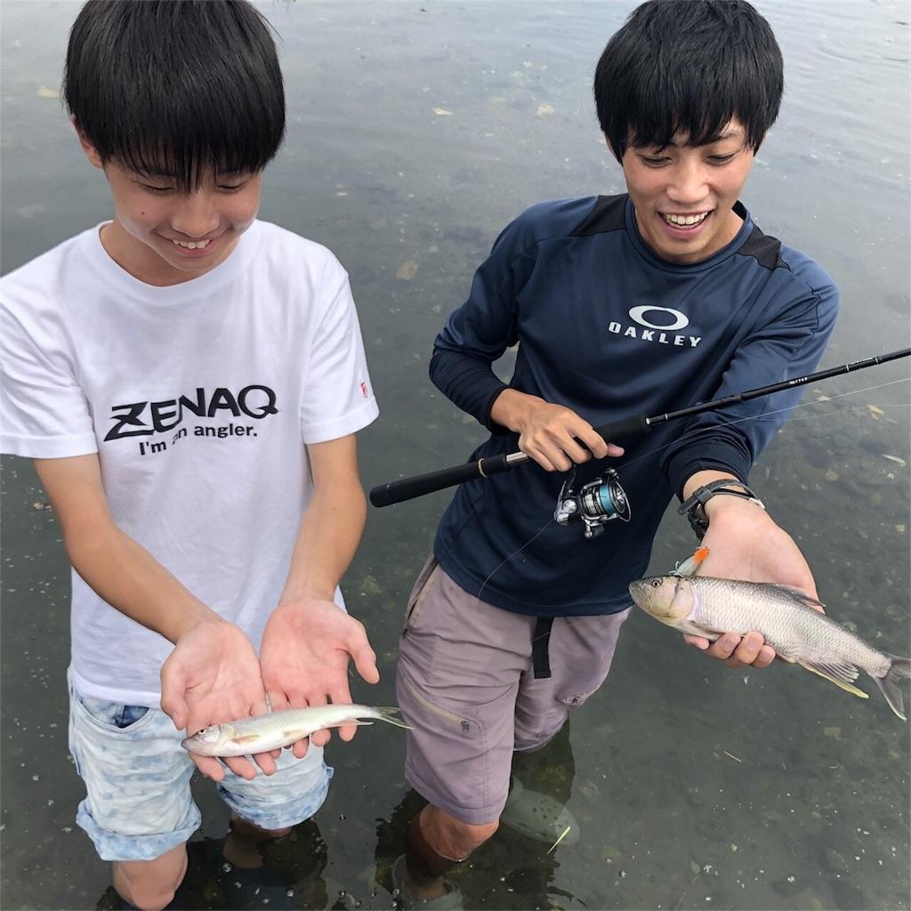 琵琶湖のケタバスが釣れました
