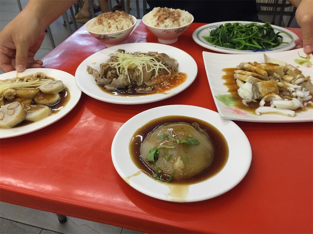 台湾の友人と食べた台湾料理