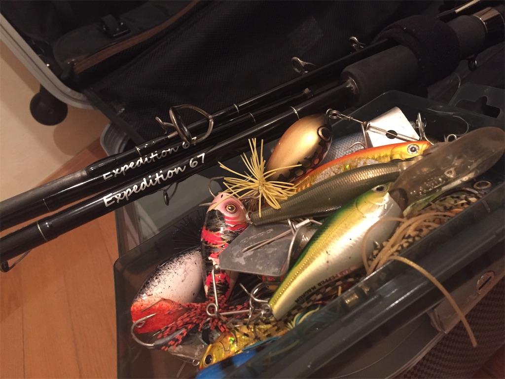 トーマン釣りに使うタックル