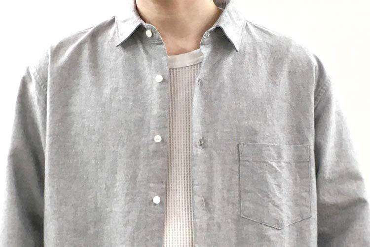 シャツのインナーにサーマル