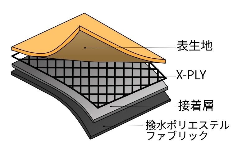 エックスパックの構造