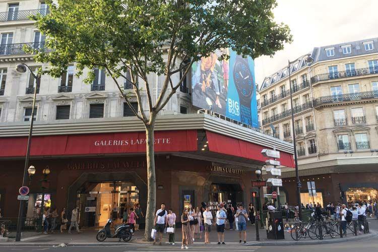 パリのギャラリーラファイエット