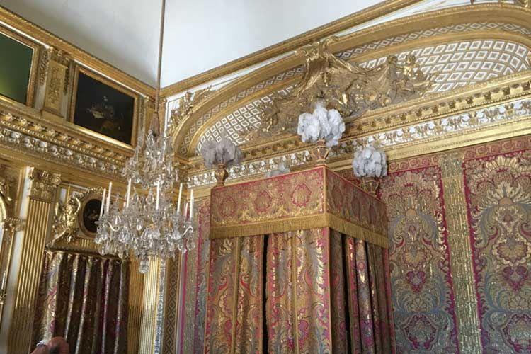 ヴェルサイユ宮殿の内装