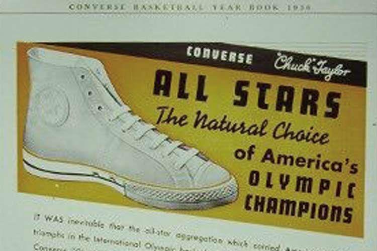 コンバースオールスターの1950年代ヴィンテージ