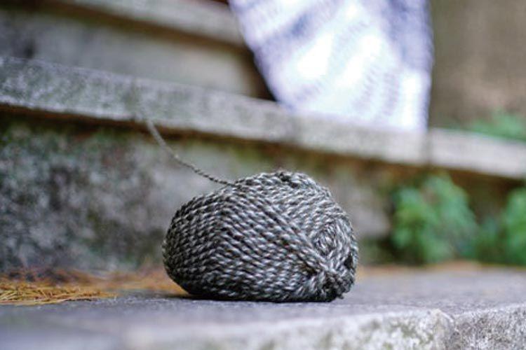 杢糸と霜降り糸