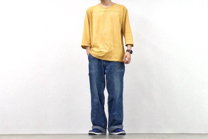 GOHEMPのフットボールTシャツのサイズ感