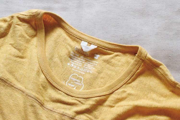 ゴーヘンプのフットボールTシャツ